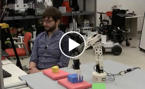 Rosie the task-learning robot learns Tower of Hanoi