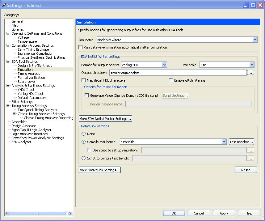 Quartus Software Tutorial
