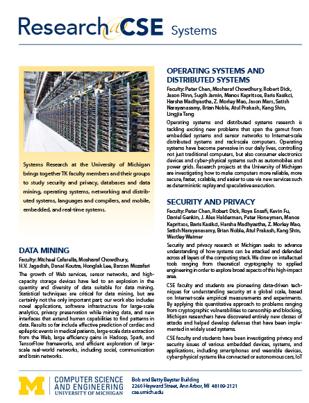 Software research flyer
