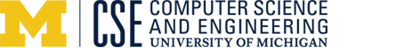 University of Michigan Computer Science and Engineering logo